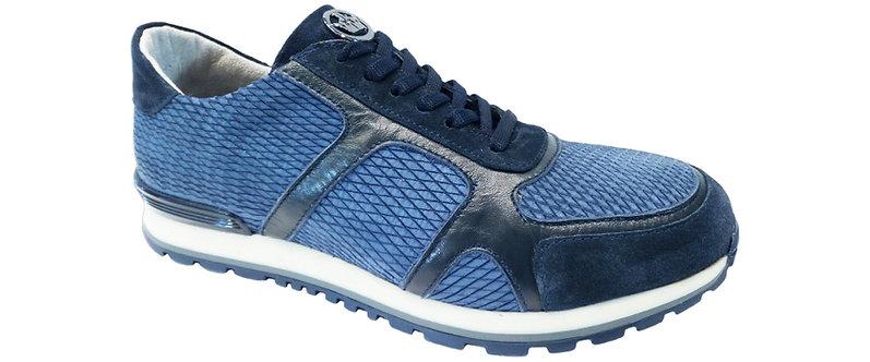 Konig Genève - 8391 Bleu - Chaussures Sport pour Hommes - Men Sport Shoe