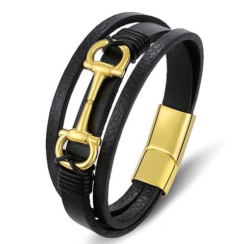 Konig Genève - Gold Horse Buckle Bracelet