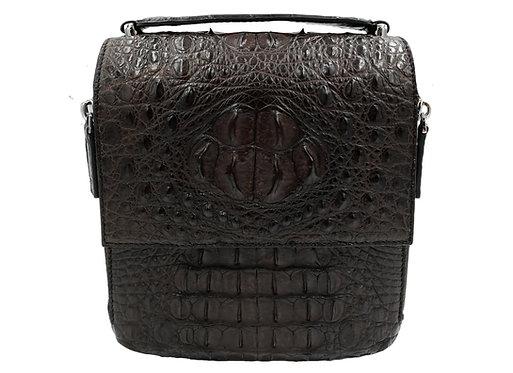 Konig - Top Handle Crossbody Bag Brown