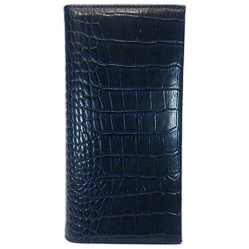 Konig - Vertical Wallet 1549 Blue Croco