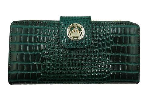 Konig - Women Wallet Green Croco