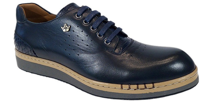 Konig - 5659 Blue - Chaussures Hommes Sport
