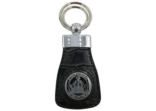 Konig Genève - Key Chain Black Croco