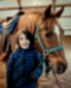 building relationships with horses using therapeutic riding