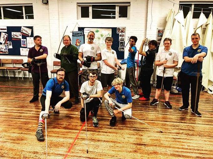 Squad goals #fencing #martialarts #fight