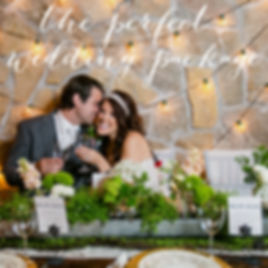 The Perfect Wedding Package