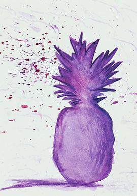 Purple Pineapple Juice