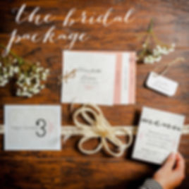 The Bridal Package