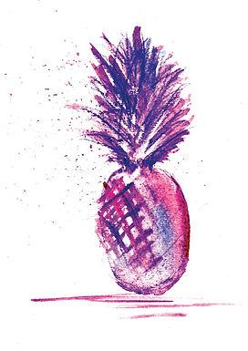 Purple Pineapple Fun