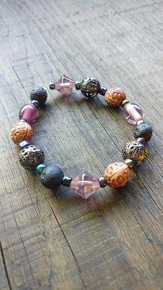 Boho Purple Love Bracelet