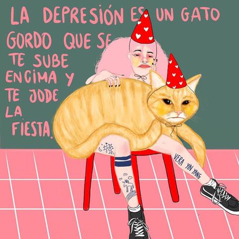 ilustracion sobre depresion