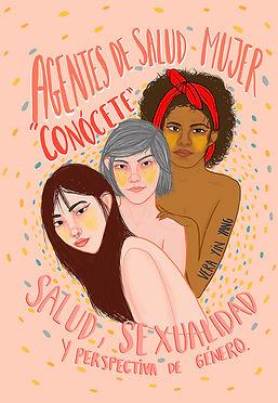 ilustración salud, sexualidad y violencia de género