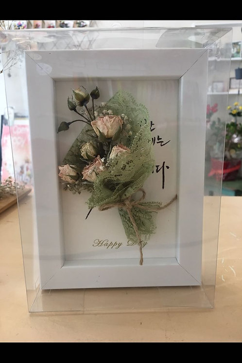 Flower with frame 19