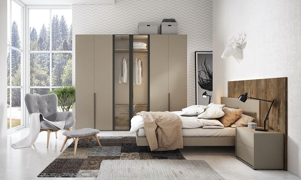 Exclusivas camas de diseño, armarios y vestidores a medida.