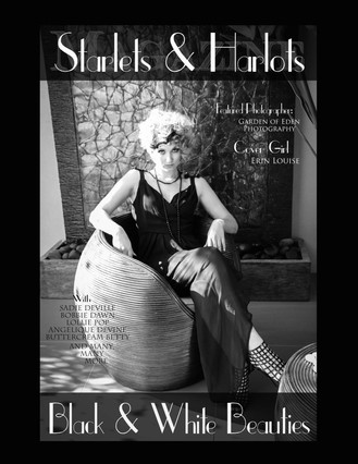 Front Cover Starlets & Harlots Magazine
