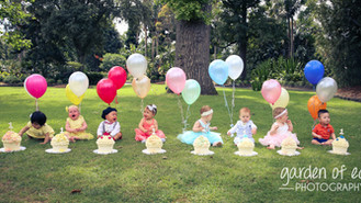 8 Baby Cake Smash....