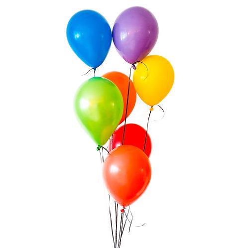 Helium Balloon Bouquet - Choose your colors