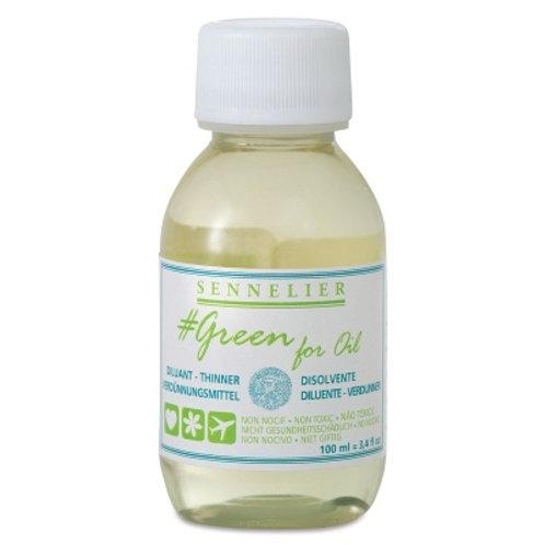 GREEN FOR OIL SOLVENT 100ML