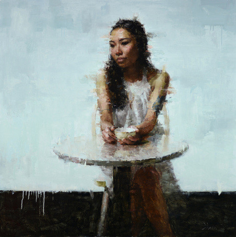 Contemplation, 36x36, Oil on Panel, 2014