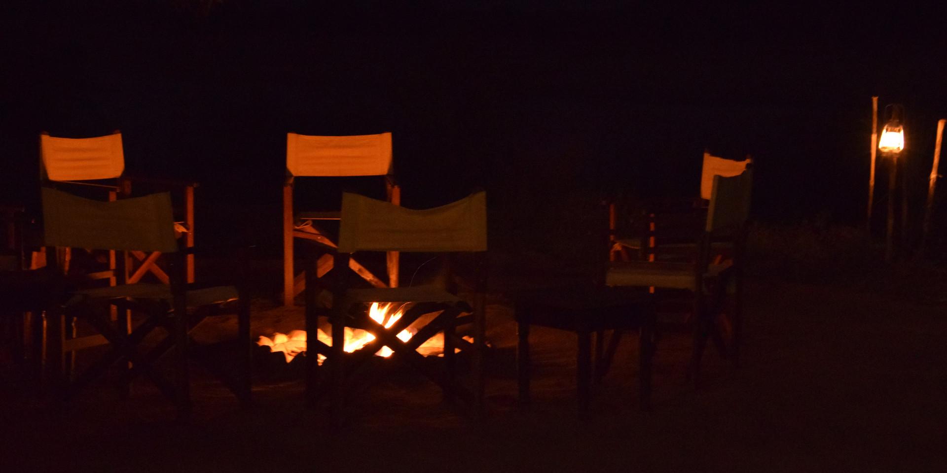 "Nothing like a good campfire - ""bush TV"""