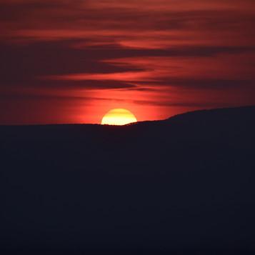 Incredible sunset