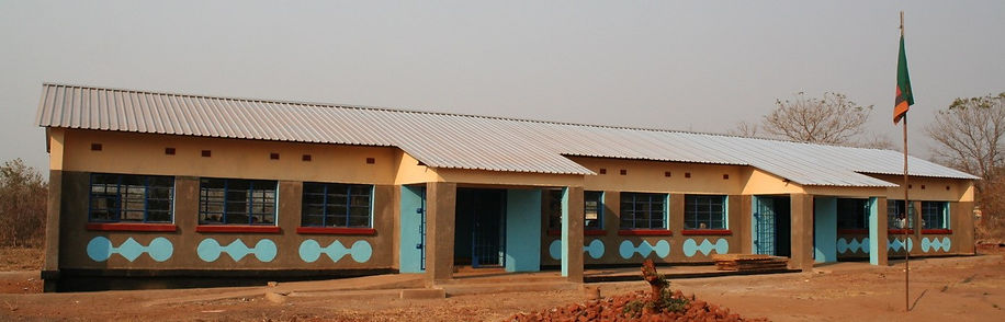 Classroom block built by MUNYAMADZI GAME RESERVE
