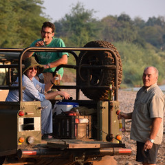 Self-drive in a reliable bush vehicle is