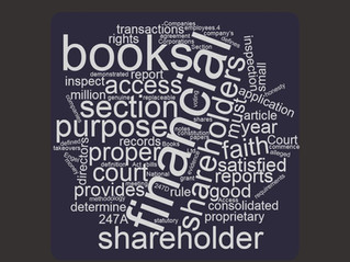 Company books: Access for shareholders