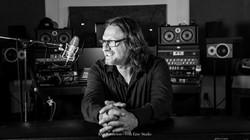 Christian Morisset en studio