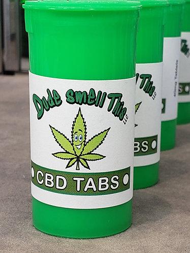 10mg CBD tabs 300mg per bottle