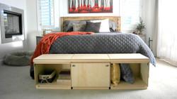 Storage cube bench slider 5