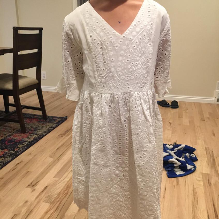 Catherine Baptism Dress Sample