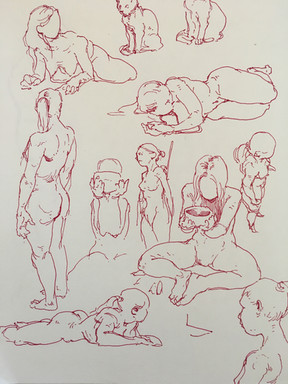 imagined poses 1