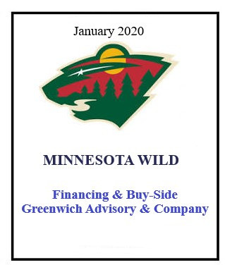 Minnesota Wild January 2020