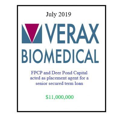 Verax Biomedical July 2019