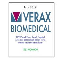 Verax Biomedical July 2019