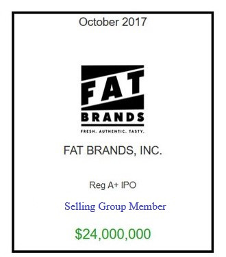 FAT Brands October 2017