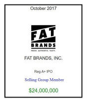 FAT Brands October 2017
