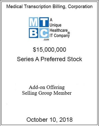 MTBCP October 2018