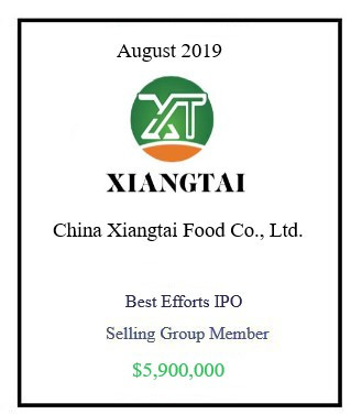 Xiangtai August 2019