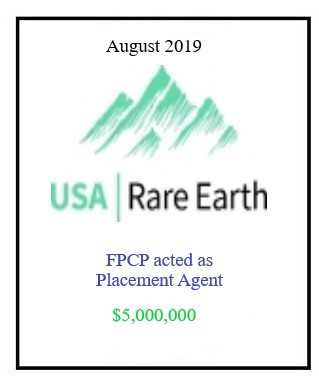USA Rare Earth August 2019