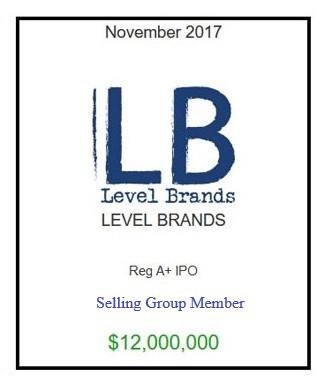 Level Brands November 2017
