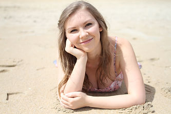 Amanda E. Howard on the Beach