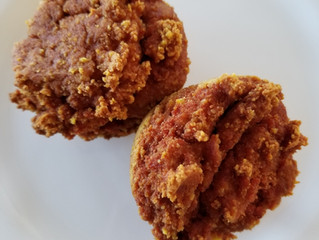 Turmeric Coconut Flour Muffins