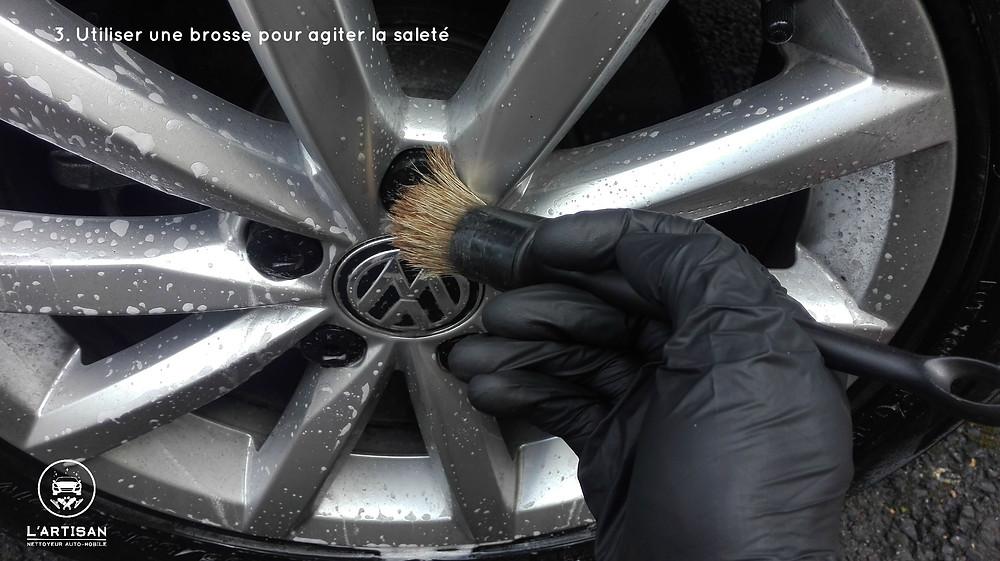 nettoyage à sec voiture