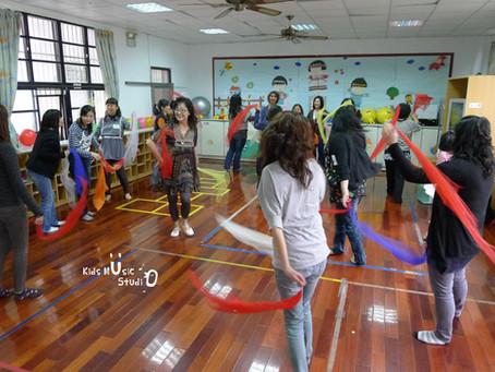 幼兒園音樂學習區之課程設計與環境梳理