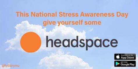 """national stres awareness day"""