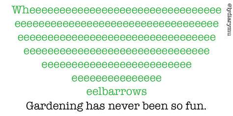"""""""wheelbarrows"""""""