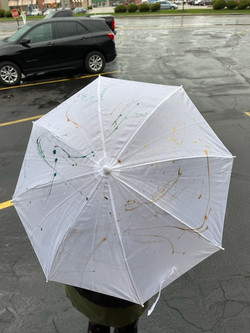 White Umbrella - $8.00