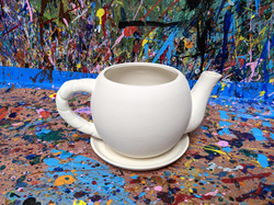 """4"""" Ceramic Teapot - $10.00"""